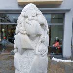 Spargelskulptur