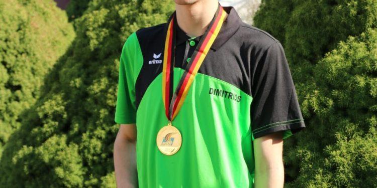 Dimitrios Avdemiotis gewinnt die Deutsche Meisterschaft 2019