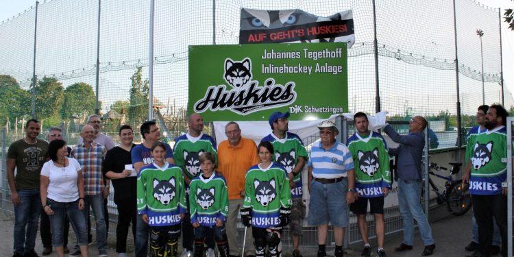 Einweihung der Johannes Tegethoff Inlinehockey Anlage